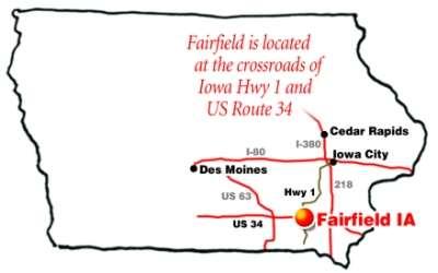 Find Us Maasdam Barns Fairfield Iowa